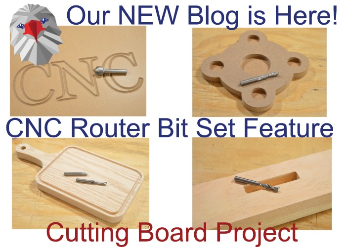 New Blog: CNC Bits Feature and Cutting Board Project